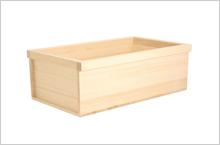 高野槇足湯浴槽のイメージ